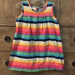 Hanna andersson bright stripe sundress